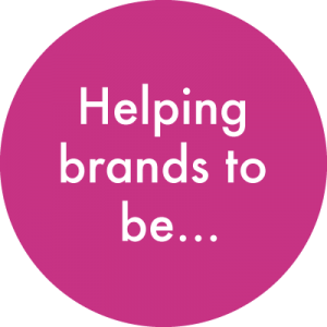 Helping brands to be..